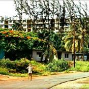 1977-1981. Улица в Моа.