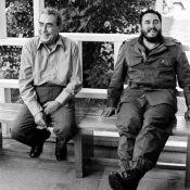 Встреча Леонида Брежнева и Фиделя Кастро