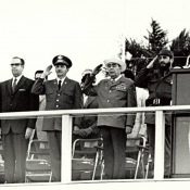 1974. Л.И.Брежнев во время визита на Кубу