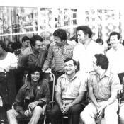 1978. Дин Рид, Л.В. Лещенко, И.Д. Кобзон и прапорщик Смогулов