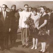 1963, октябрь. Валентина Терешкова прилетела в Гавану.