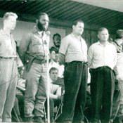 Нач. Политуправления К.В.Р.С. генерал-майор Петренко Павел Максимович, второй справа, 1962-1963