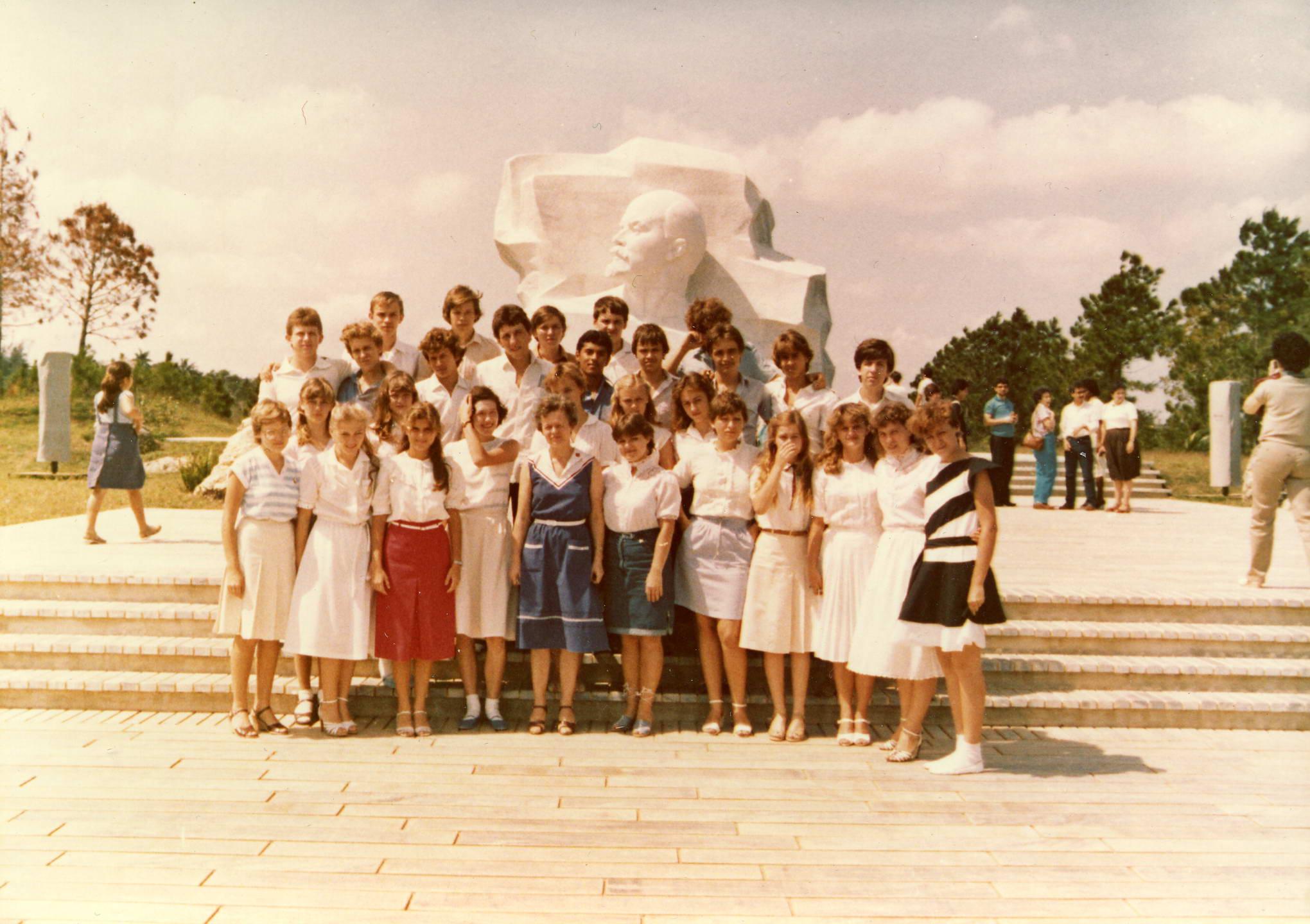 еще 10 «Д» 1983-1984 учебный год
