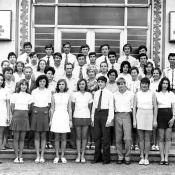 10 «В»  1975-1976  учебный год