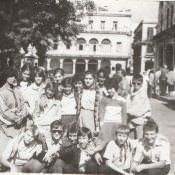 7 «Г»  1987-1988  учебный год, на экскурсии в Старой Гаване