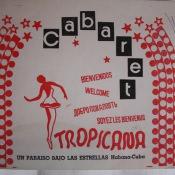 1985-11-ХХ. Кабаре «Тропикана». Фирменный конверт для фотографий.