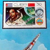 Календарик на 1981 год - Первый совместный советско-кубинский космический полет в 1980 году