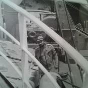 061. Старшина команды электриков мичман Михайлиди (четыре похода на Кубу)