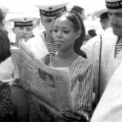 1969.07.21-26. День открытых дверей на крейсере «Грозный»