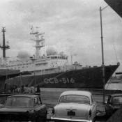 1986-1987. ССВ-516 - головной разведывательный корабль типа «Бальзам» (по классификации НАТО).