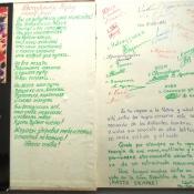 1986-12-ХХ. Форзац книги по искусству с памятными надписями.