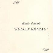 1968-1969. Пригласительный билет в испанский центр №2, часть 2