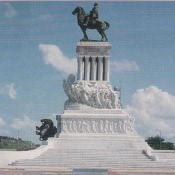 06. 1970. Памятник национальному герою генералу Гомесу.