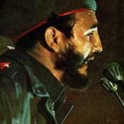 Фидель Кастро Рус - Премьер-министр республики Куба. Цветное фото В. Володкина.