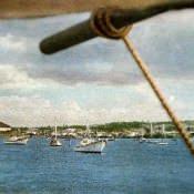 Рыбачья бухта Мансанильо. Цветное фото В. Володкина.