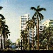 Улица в Гаване. Цветное фото В. Киврина.