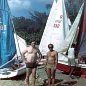 1985. Яхтинг.