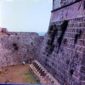 132. Сантьяго-де-Куба. 1983-1985. Крепость Кастильо-дель-Моро. Крепостной ров.