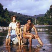 026. Баракоа. 1983-1985. На горной реке.