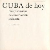 02. Cuba de hoy. Diez y seis anos de construction socialista