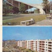 73. Instalaciones de la Ciudad Deportiva. 74. Edificios construidos por microbrigadas