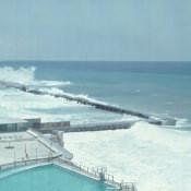 1967. Волноломы у гостиницы  «Росита»