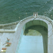 1974. Бассейн без воды гостиницы «Рио Мар»