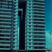1976. Гостиница «Twin towers» на Малеконе, вид спереди