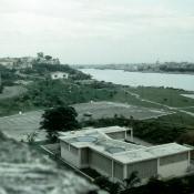 1989, ноябрь. Крепость Эль-Морро. Вид от крепости в сторону порта.