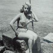 Редкая Куба. Танцовщица из «Тропиканы», 1950.