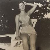 1950. Редкая Куба. Танцовщица из «Тропиканы».