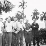 Группа военных советников на экскурсии