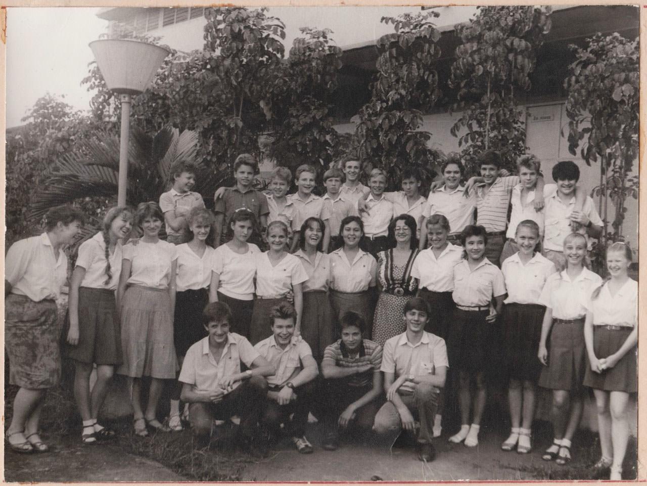 1990. Выпускной школьный альбом. Лист 4