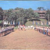 Пионерский лагерь на Мельбе. 1986.