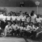 8 «А». Окончание учебного года. 15 мая 1987