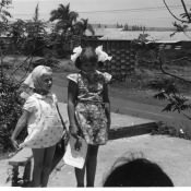 1981 год. Детский утренний на площадке за 9 Роло. Фото 2.
