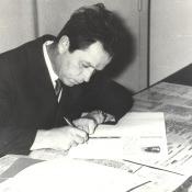 Первый Секретарь ЦК ВЛКСМ Евгений Михайлович Тяжельников на Кубе (апрель 1970)