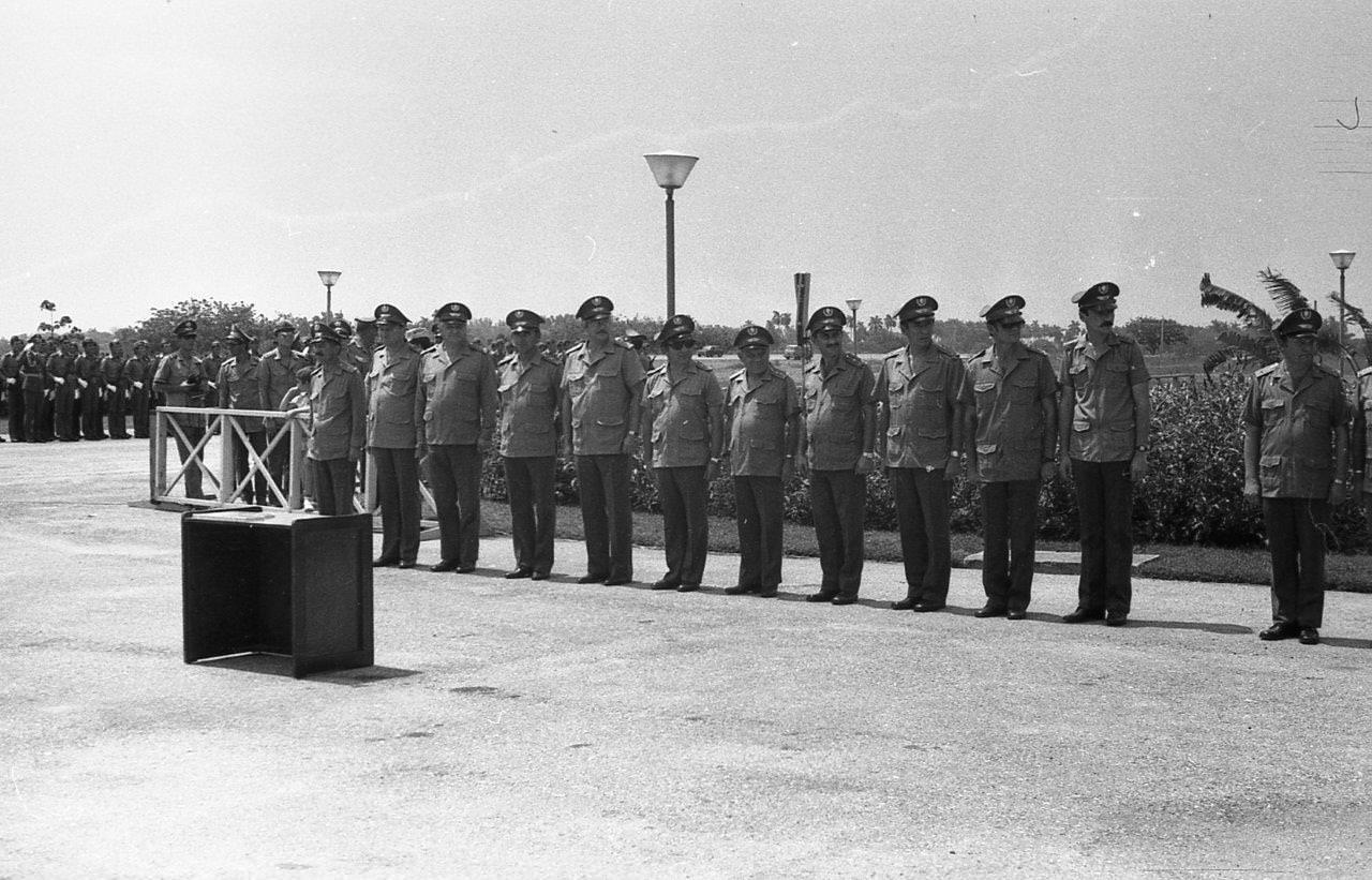 Мемориал под Гаваной. 7 ноября 1987 года. Снимки разных авторов