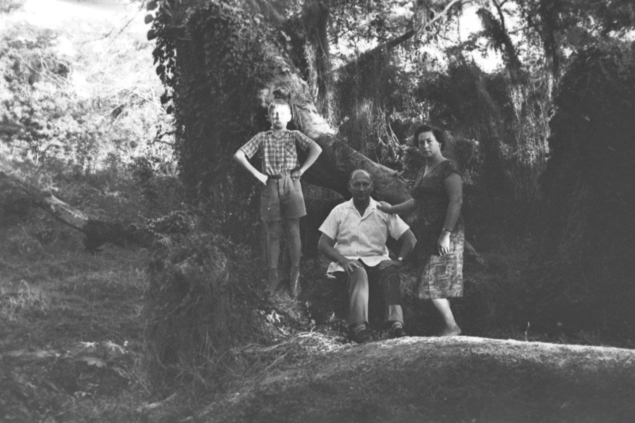 1963. В парке Альмендарес