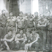 109. 1975-1976. На территории узла связи
