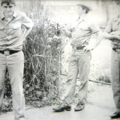 1975-1976. На территории узла связи