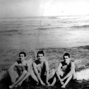 1975-1976. На пляже Эль-Саладо
