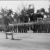 1987-11-07. Строевой смотр и парад в бригаде, фото 1