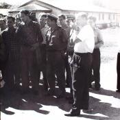 Конец 1963 года. Церемония передачи кубинцам торпедных катеров типа «Комсомолец». Фото