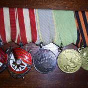 Медали и ордена Кузьмина В.А.