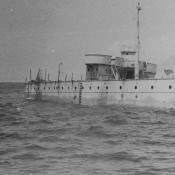 1965-04-15. Крейсер «Куба», мишень для стрель на острове Пинос, фото 1