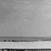 1965-04-15. Вид на крейсер-мишень со «смотровой площадки», где находилась представительная комиссия во главе с Раулем Кастро.