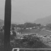 1963. Сороа. Дождь, фото 1