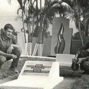 096. 1975-1976, советское кладбище