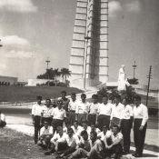 1965-1967. На выезде в Гаване. На площади Революции, рядом с Мемориалом Хосе Марти